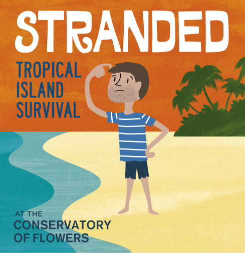 Stranded graphic square