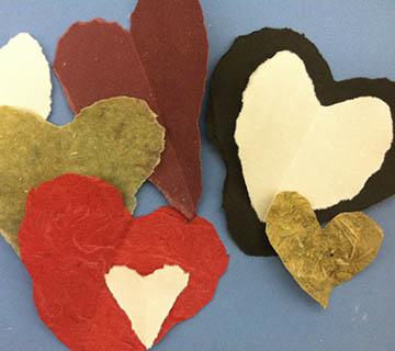 Handmade Paper created by Rhiannon Alpers