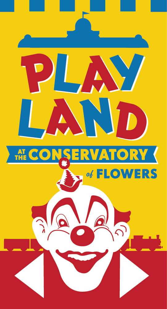 Playland at the Conservatory Banner