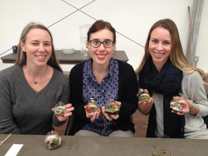Brandi Chalker terrarium workshop
