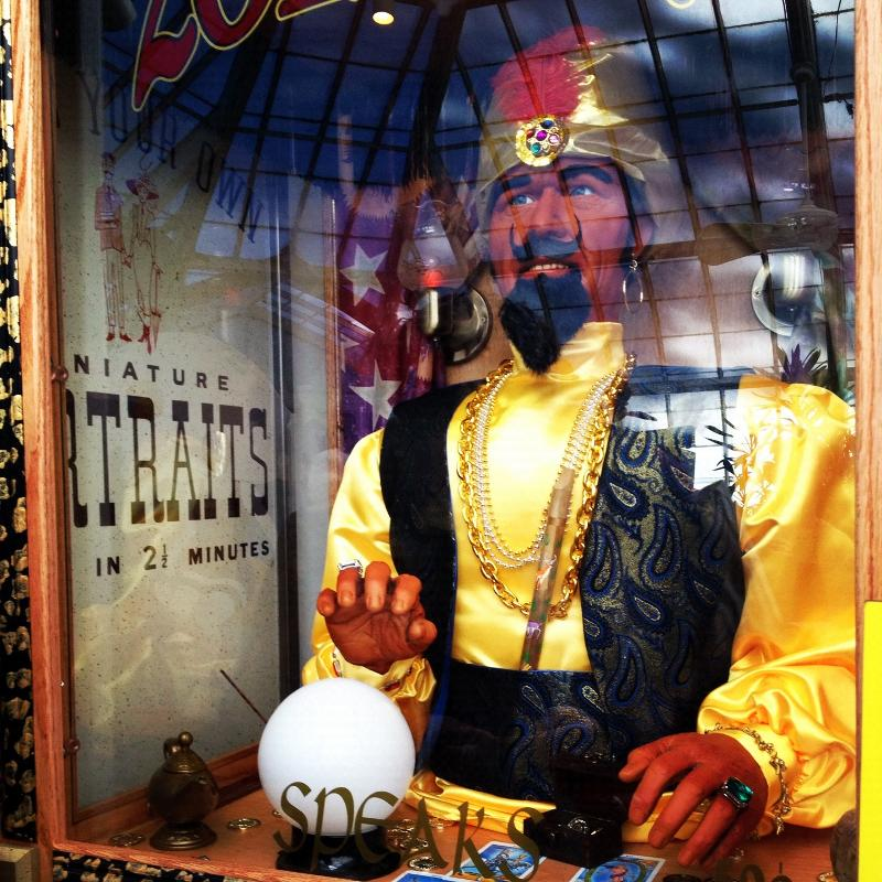 Zoltar at the Conservatory