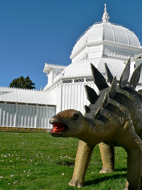 Dinos on the Lawn
