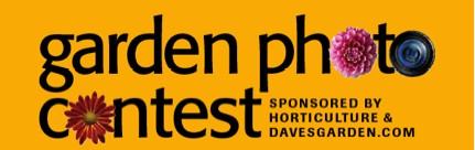 Garden Photo Contest Logo
