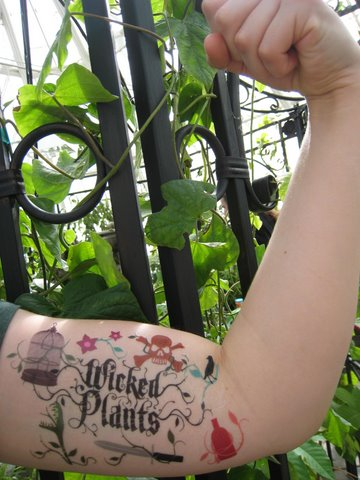 Wicked Plants Tattoos