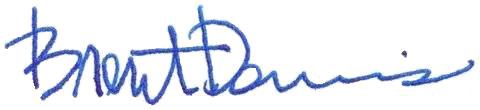 Brent's signature