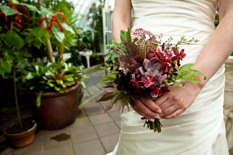 Ryan Anson's bouquet photo