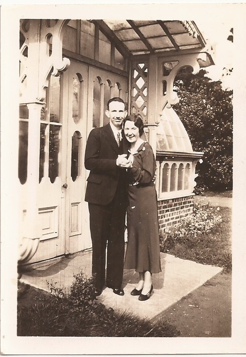 James and Kathleen O'Connor Murphy, newlyweds, c.1931