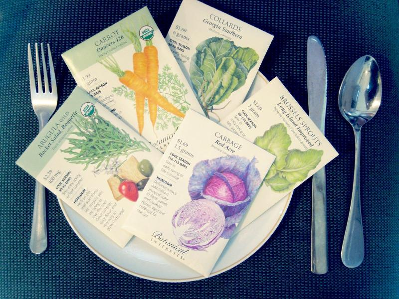 Seed Packets for Dinner.
