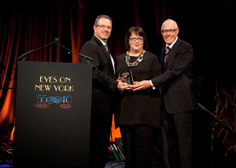 Award Presented to Ms. Marge Axelrad by event Co-Chair Mike Daley and OCNY President Richard Feinbloom