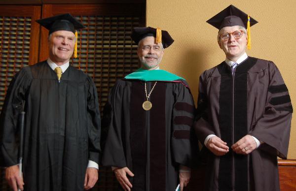Mr. Gordon Gund, President David Heath, Dr. Gordon Legge