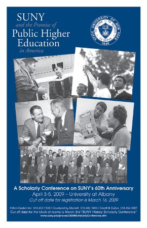SUNY 60th Anniversary Conference Poster