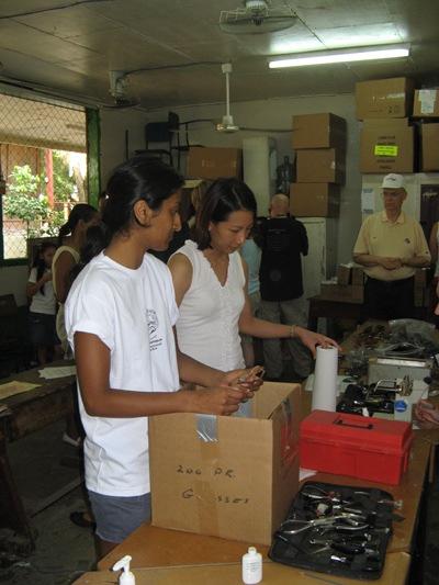 Ms. Komal Patel, Ms. Lynn Trieu