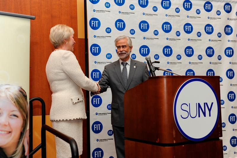 Chancellor Zimpher and President Heath