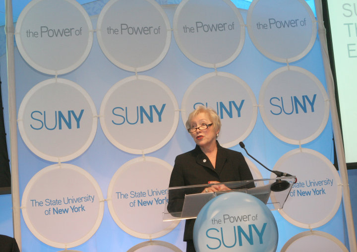 Chancellor Zimpher Launches Strategic Plan