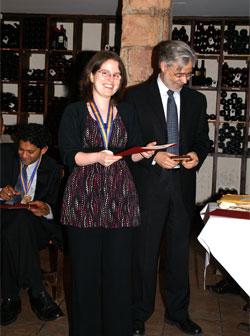 Dr. Steiner receives award