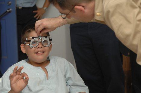 Child's Eye Exam