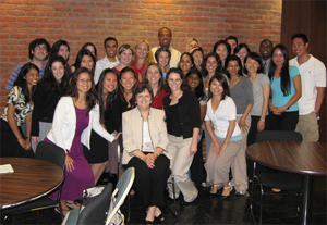 Dr. Diane Adamczyk and 2008-09 Residents
