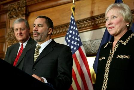 Governor Paterson, Dr. Zimpher