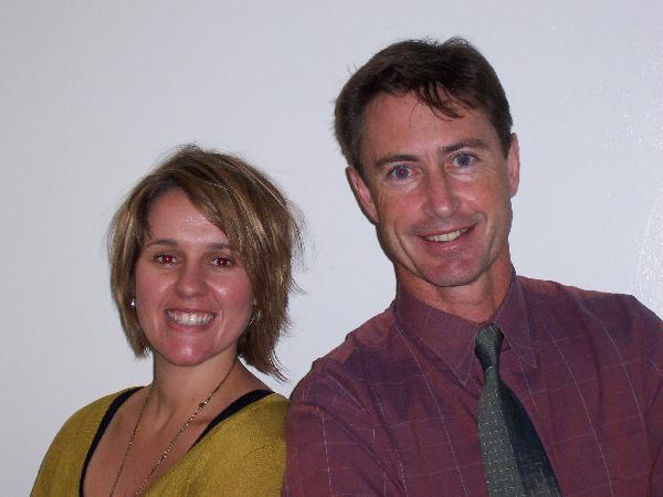 Dr. Rebekah Hanna and Dr. Michael White
