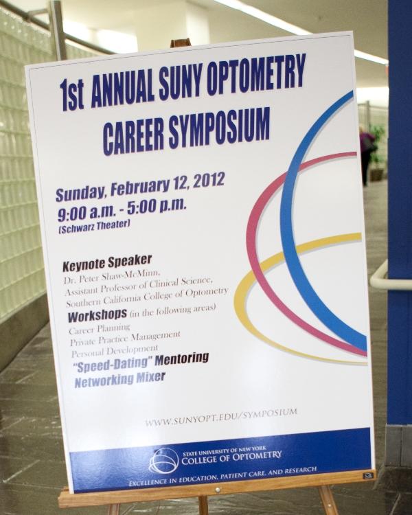 Career Symposium Poster