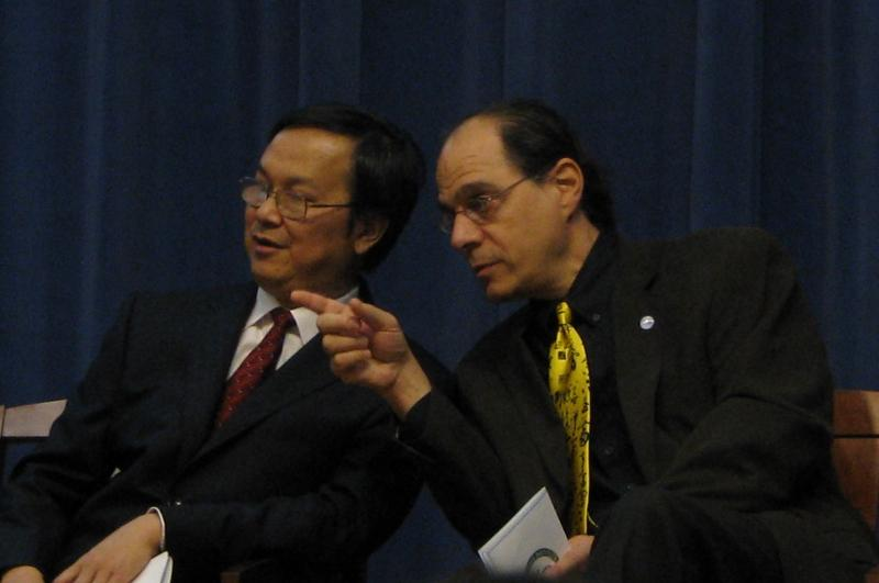 Dr. Qu Jia and Dr. Mitchell Leventhal