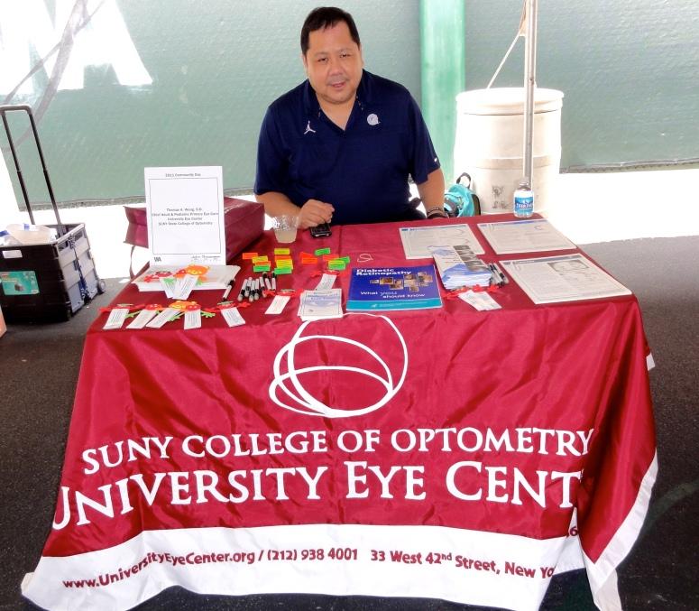 Dr. Wong at Washington Jesuit Academy