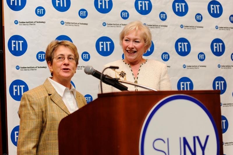 Assemblymember Deborah Glick, Chancellor Nancy Zimpher