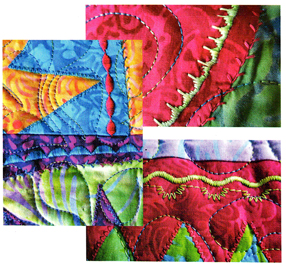 Chutes & Ladders Stitching