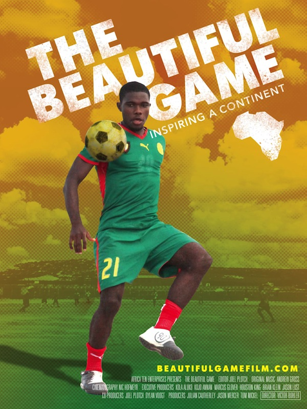 Poster for 'The Beautiful Game'