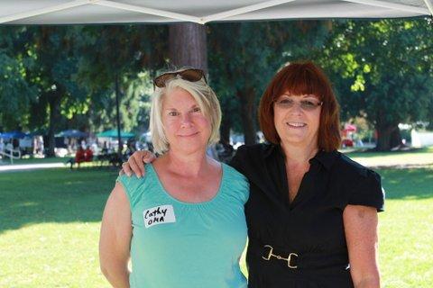 Cathy & Donna PJFair