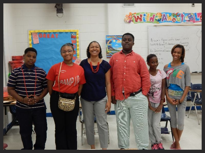 Gillman Magnet >> Five ELE Leadership students who attend Pillans Middle School also participated in the symposium ...