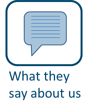 What they say about us