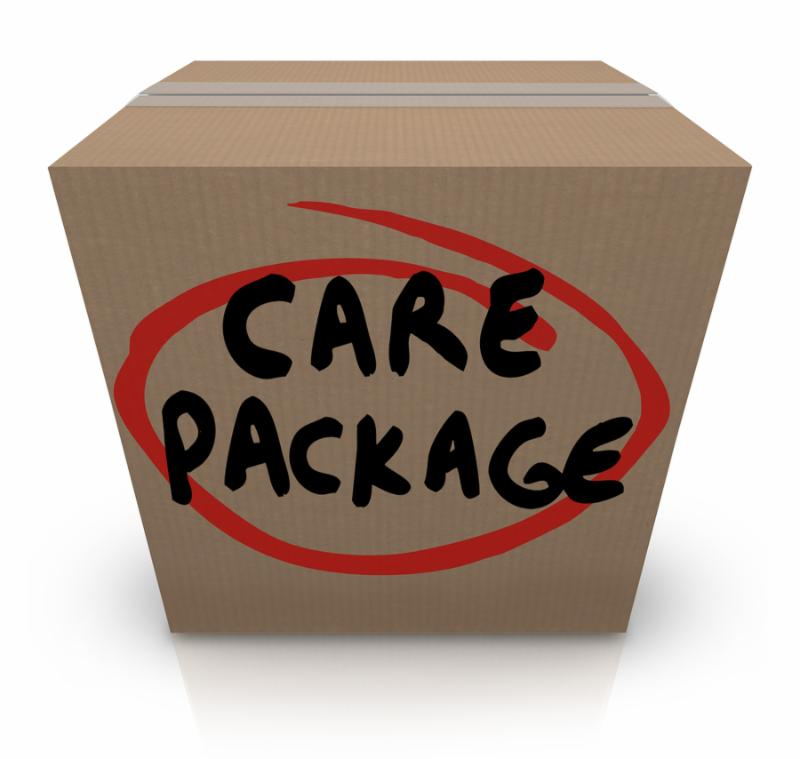 Clip Art Military Care Package