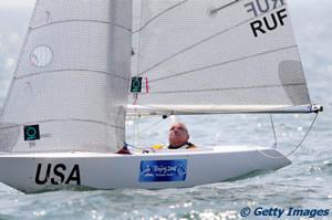 John Ruf on water at Qingdao