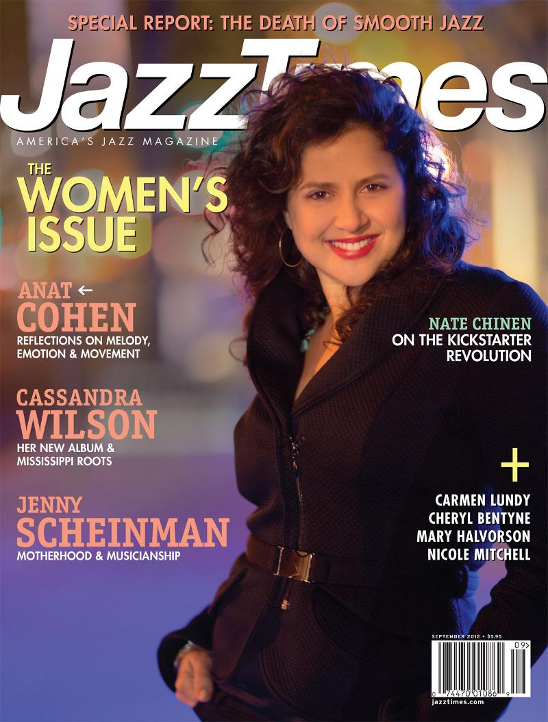Anzic Records Artist - Clarinetist-Saxophonist Anat Cohen Live in
