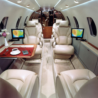 Sentient Jet Interior