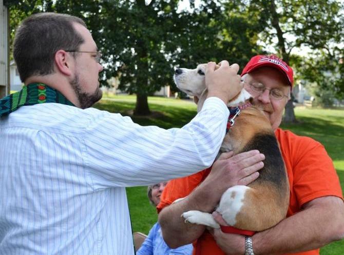 Clarkston UMC Animal Blessing