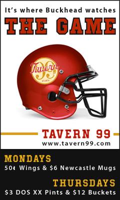 Tavern 99 Football Ad