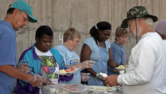 Annual Report Serving Food