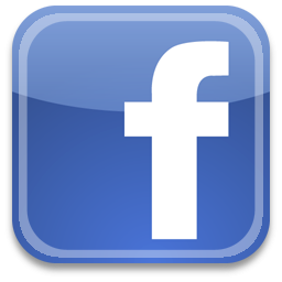 Facebook logo_ a blue square with a white lowercase f
