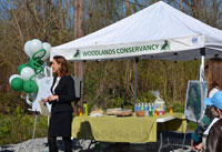 Woodlands Conservancy Press Conference