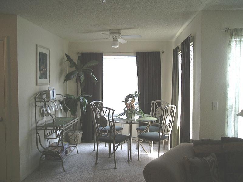 Condo Dining Room Area