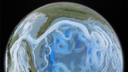 Dynamic Earth ocean currents image