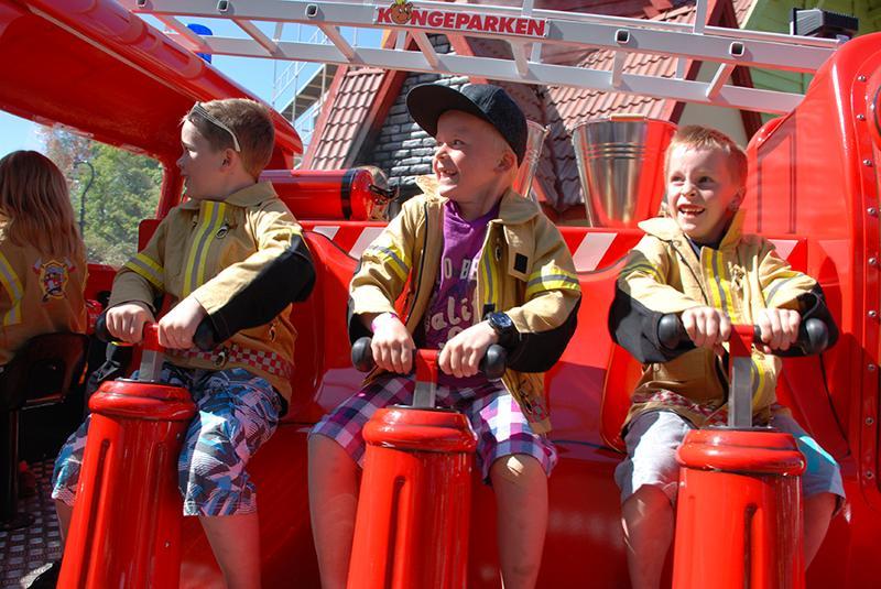 Children's Firestation - manning the pumps - GW Group