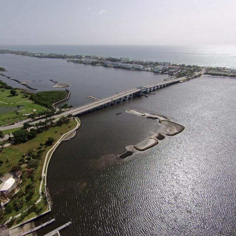 Worth Avenue Bridge Aerial