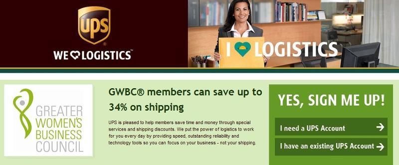 UPS Discount Logo