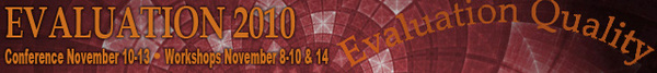 Evaluation 2010 Banner