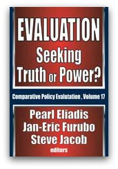Evaluation: seeking Truth or Power