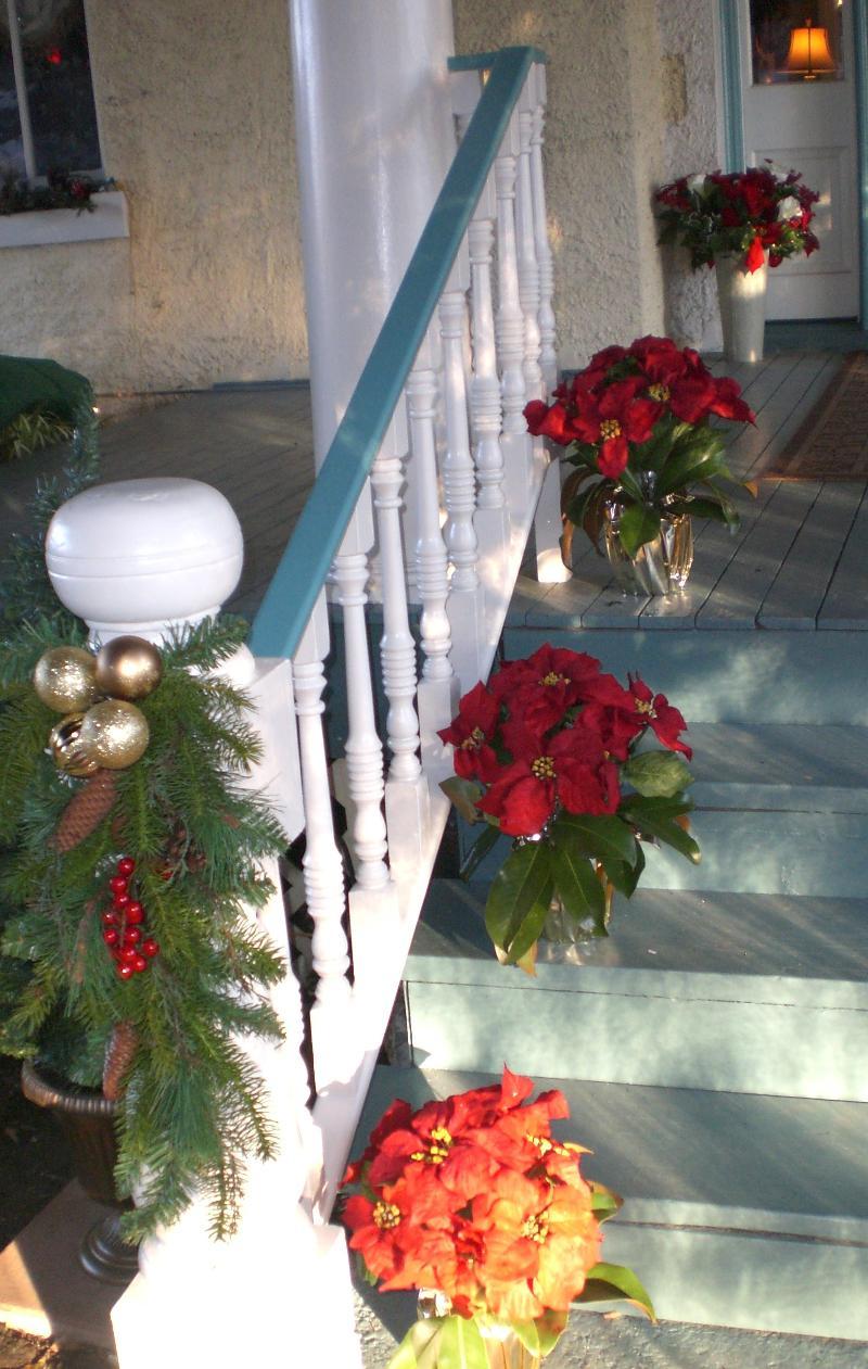 Christmas Pavilion Banister