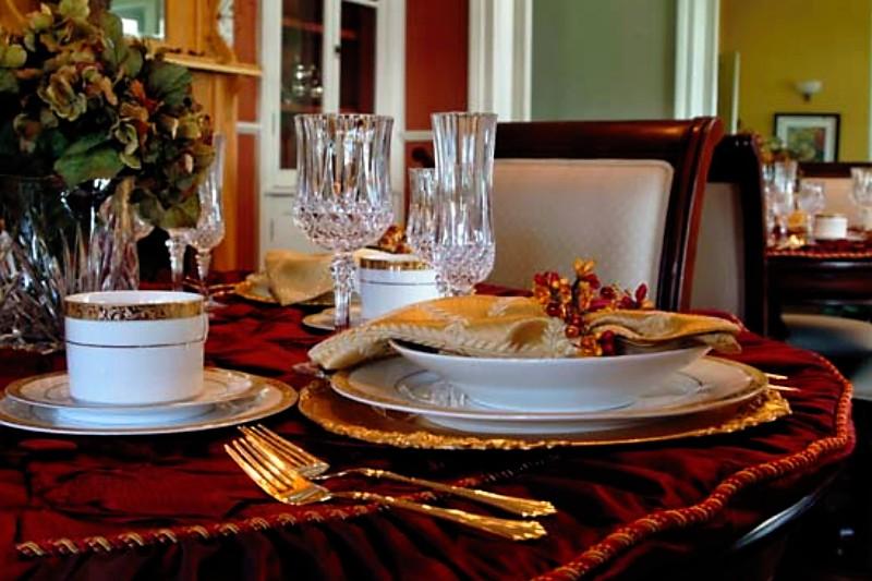 Elegant Table Closeup